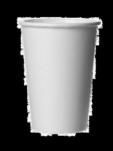 Witte koffiebeker 10oz/250ml