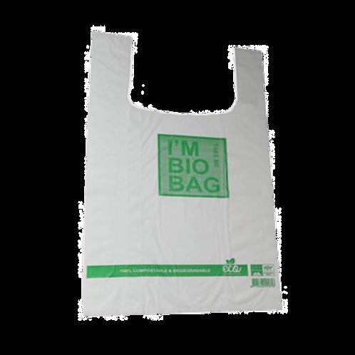 'I am Bio Bag'  Bio-Hemddraagtas 45cm