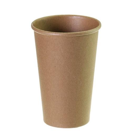 16 oz Kraft paper cup 20x50= 1000pcs/doos