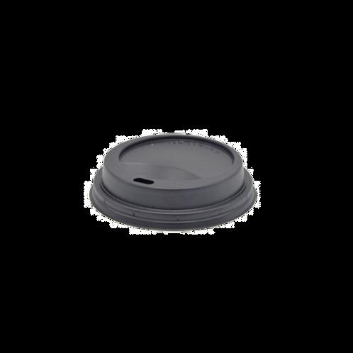 Deksel zwart 8oz/Ø80mm