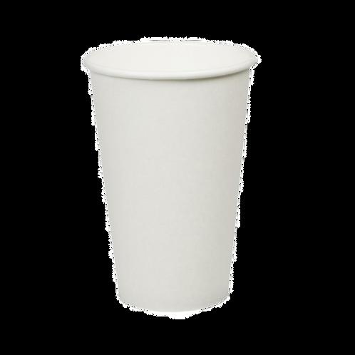 Witte koffiebeker 16oz/400ml
