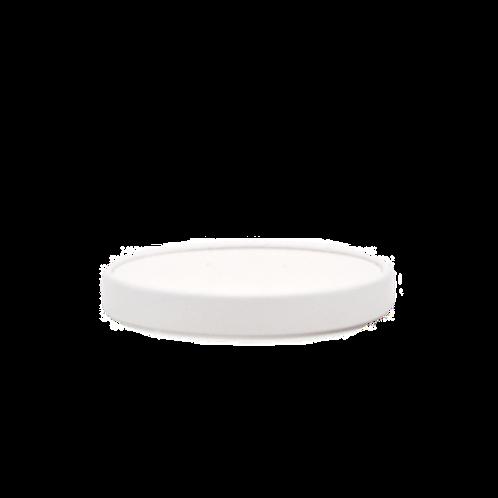 Witte soepdeksel 16oz