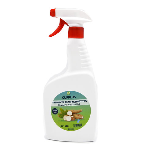 Desinfecterende alcohol 75%   spray 20x500cc/Doos