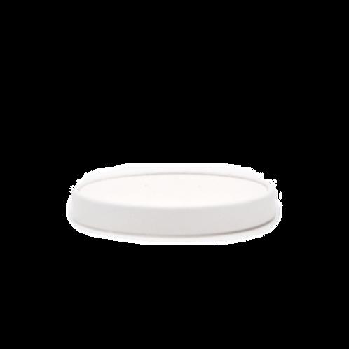 Witte soepdeksel 26oz