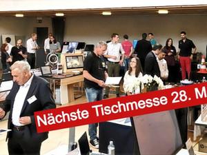 Fünfte Tischmesse Aargau kommt nach Hunzenschwil