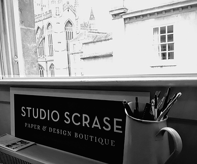 View of Bath from the design studio