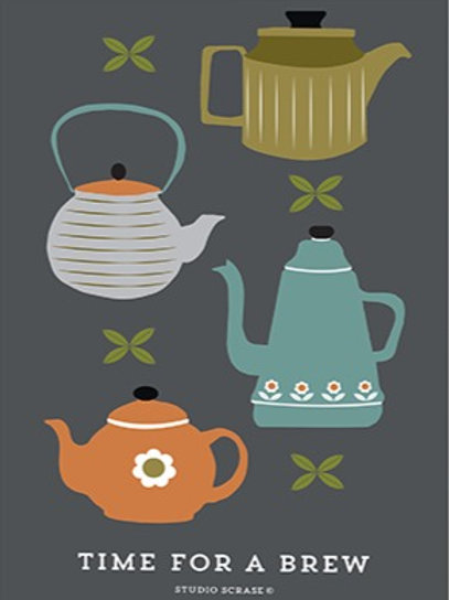 Time for a Brew – Art Print