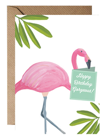 Flamingo Happy Birthday