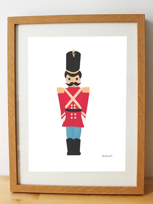 Nutcracker Soldier – Art Print
