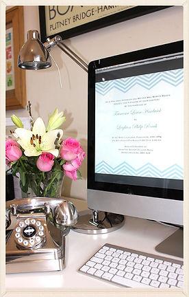 Luxury Bespoke Wedding Invitation