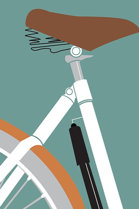 The Bicycle Journey – Art Print