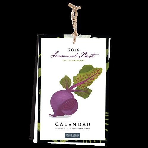 Seasonal Fruit & Veg Calendar 2016