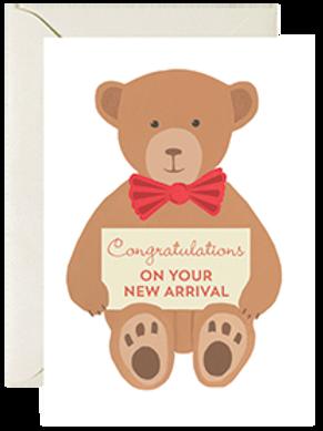 New Baby Teddy