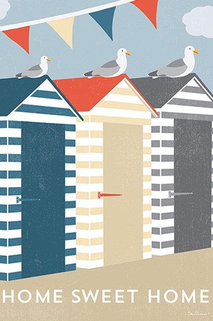 Beach Huts – Art Print