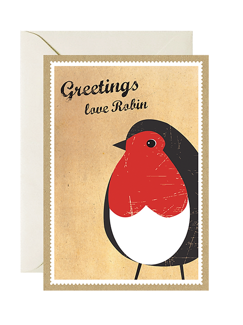 Greetings, Love Robin