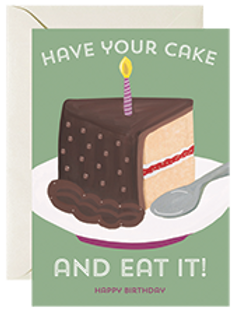 Have Your Cake & Eat It