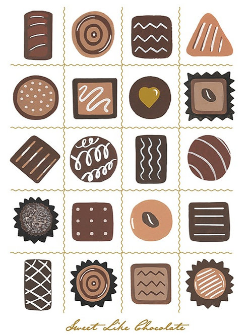Sweet Like Chocolate – Art Print