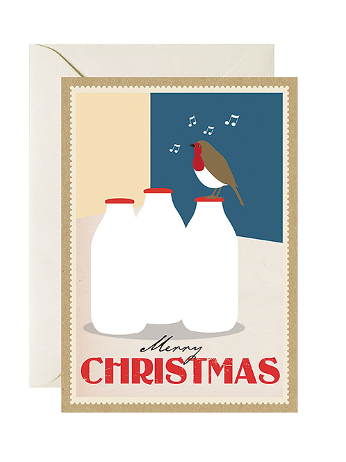Milk Bottle Robin