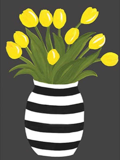 Yellow Tulips – Art Print