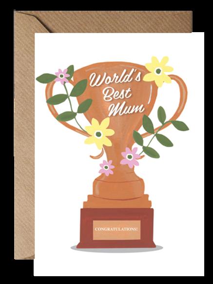 World's Best Mum Trophy