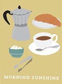 Continental Breakfast – Art Print