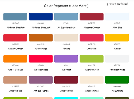 Color Repeater