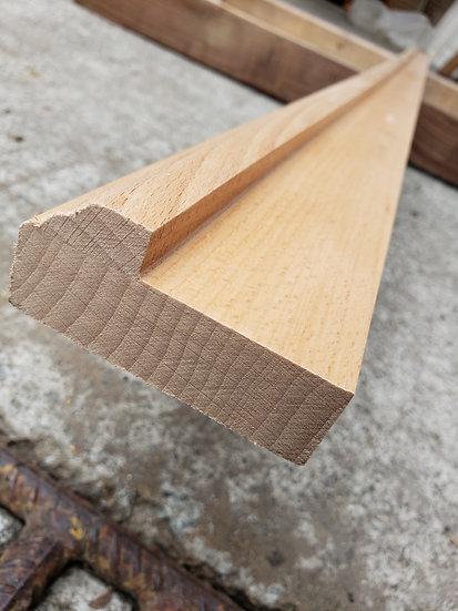 櫸木實木框