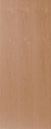 櫸木平面門