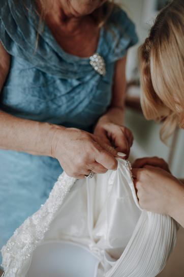 Bereit für die Hochzeit