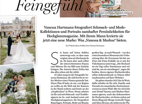 Ästhetik & Feingefühl - Magazin Niederösterreicherin September 2020