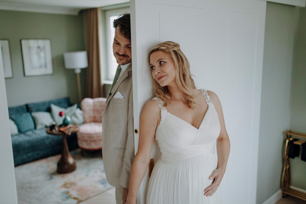 First Look Hochzeitsfotograf