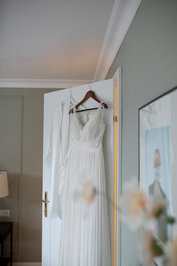 Hochzeitsfotograf Hochzeitskleid