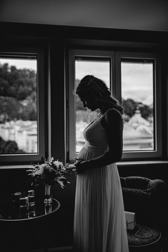 Schwanger Hochzeitsfotograf