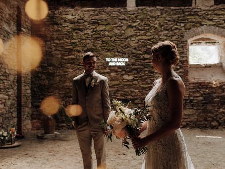 Styled Shooting - Scheunen Hochzeit Niederösterreich