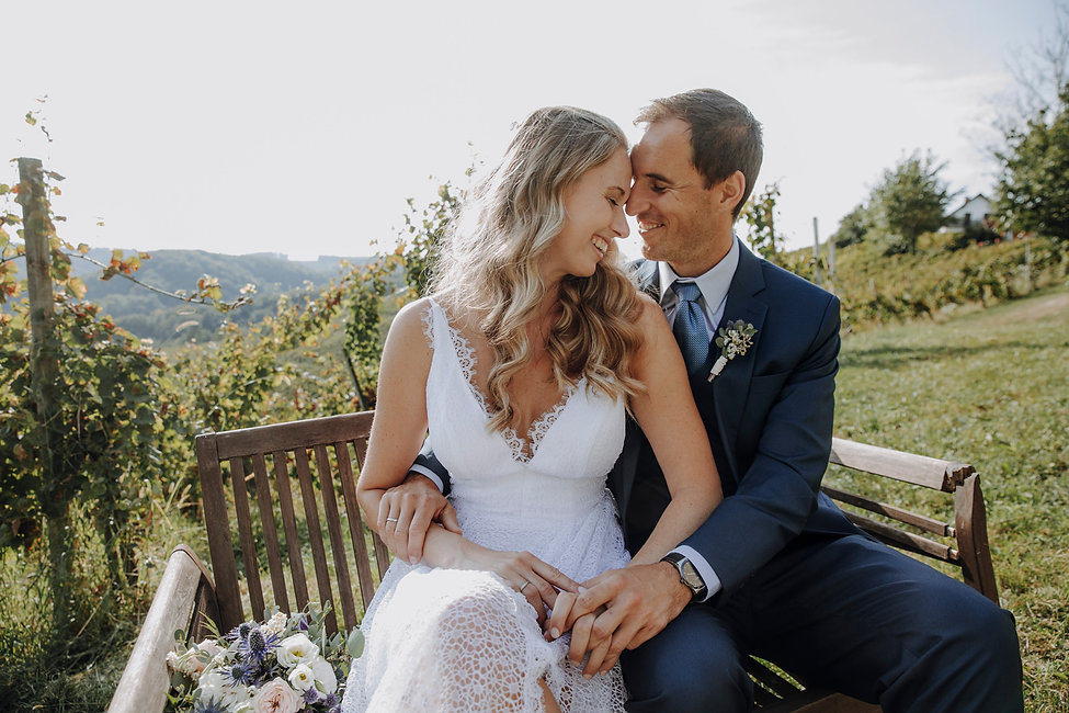 Weinberge Hochzeit