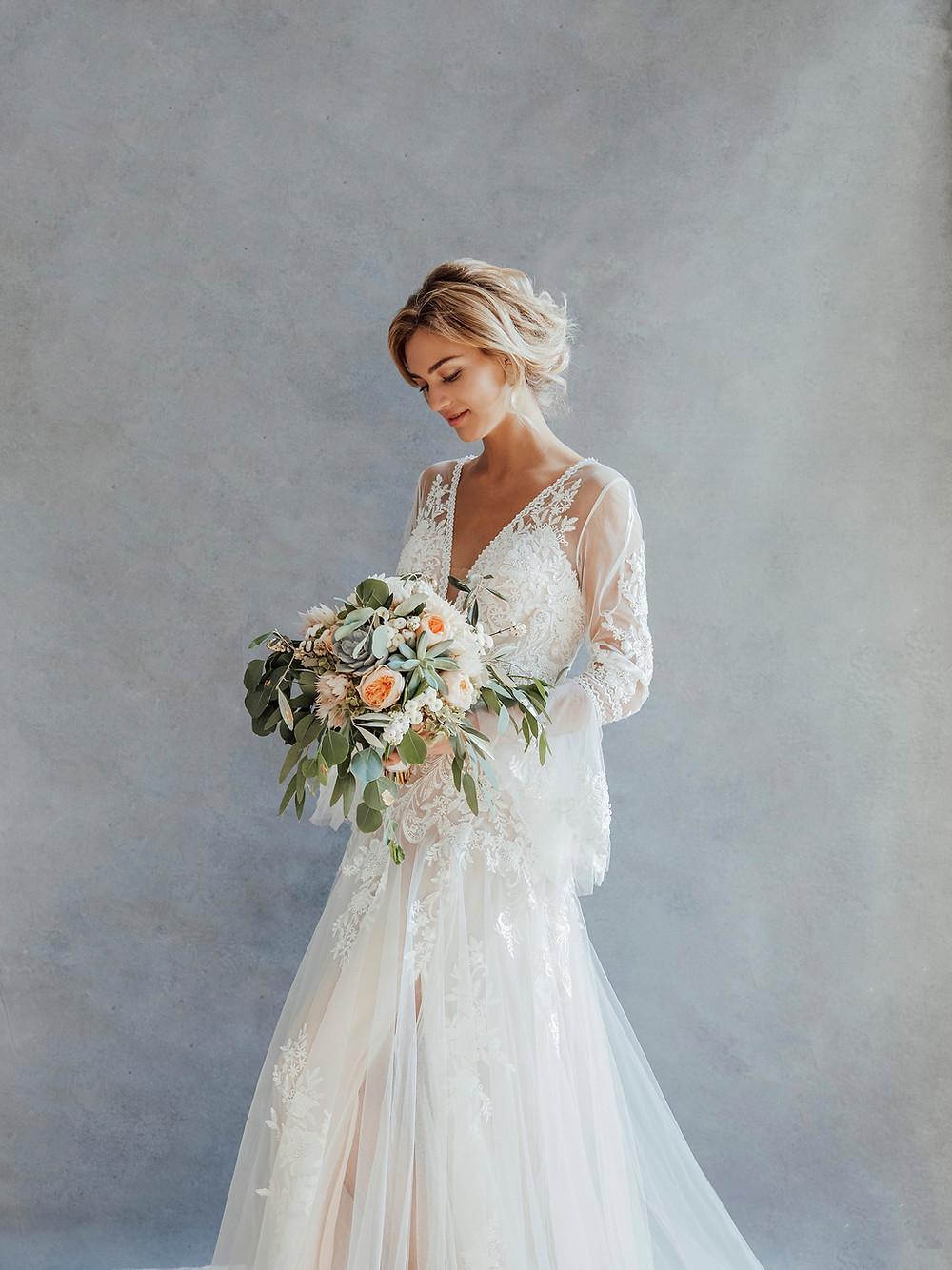 Hochzeit in Weiss