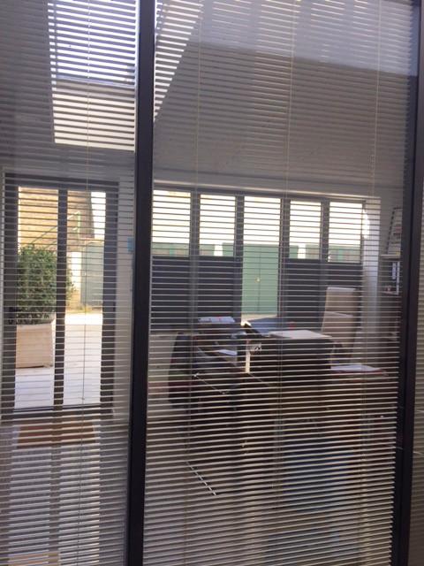 Vue depuis la salle de réunion en extension