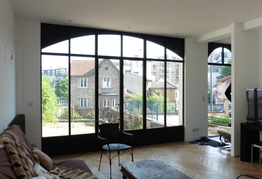 Le nouveau salon, 280 cm de hauteur sous plafond