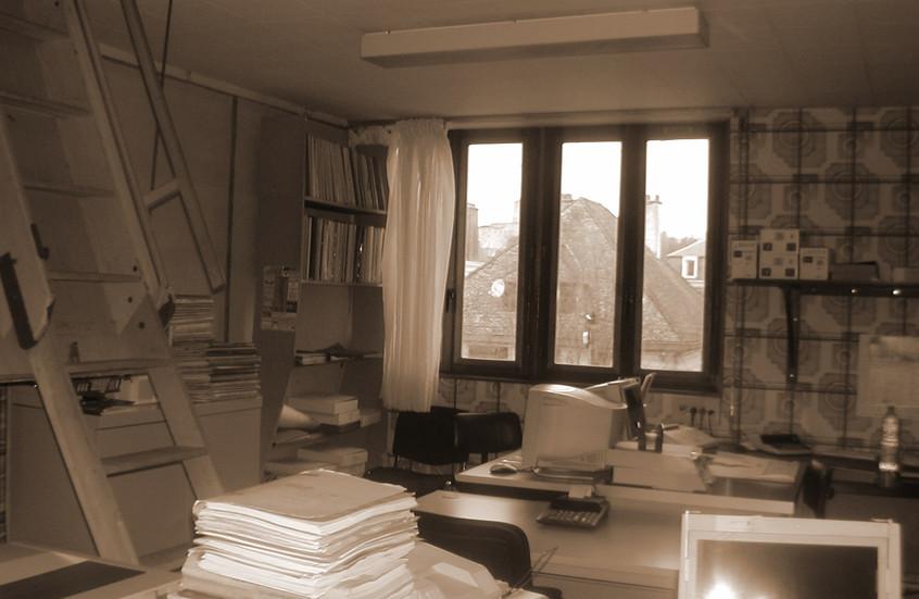 Bureaux avant travaux