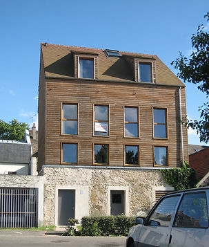 JAURES surelevation 3 logements construc