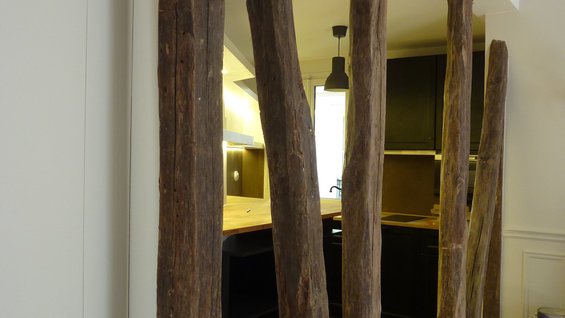Structure, pan de bois
