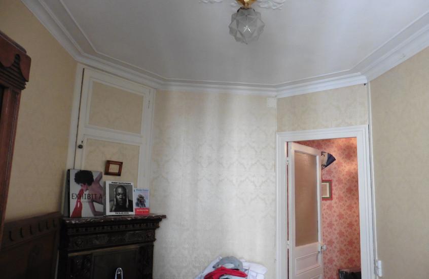 Chambre futur salon