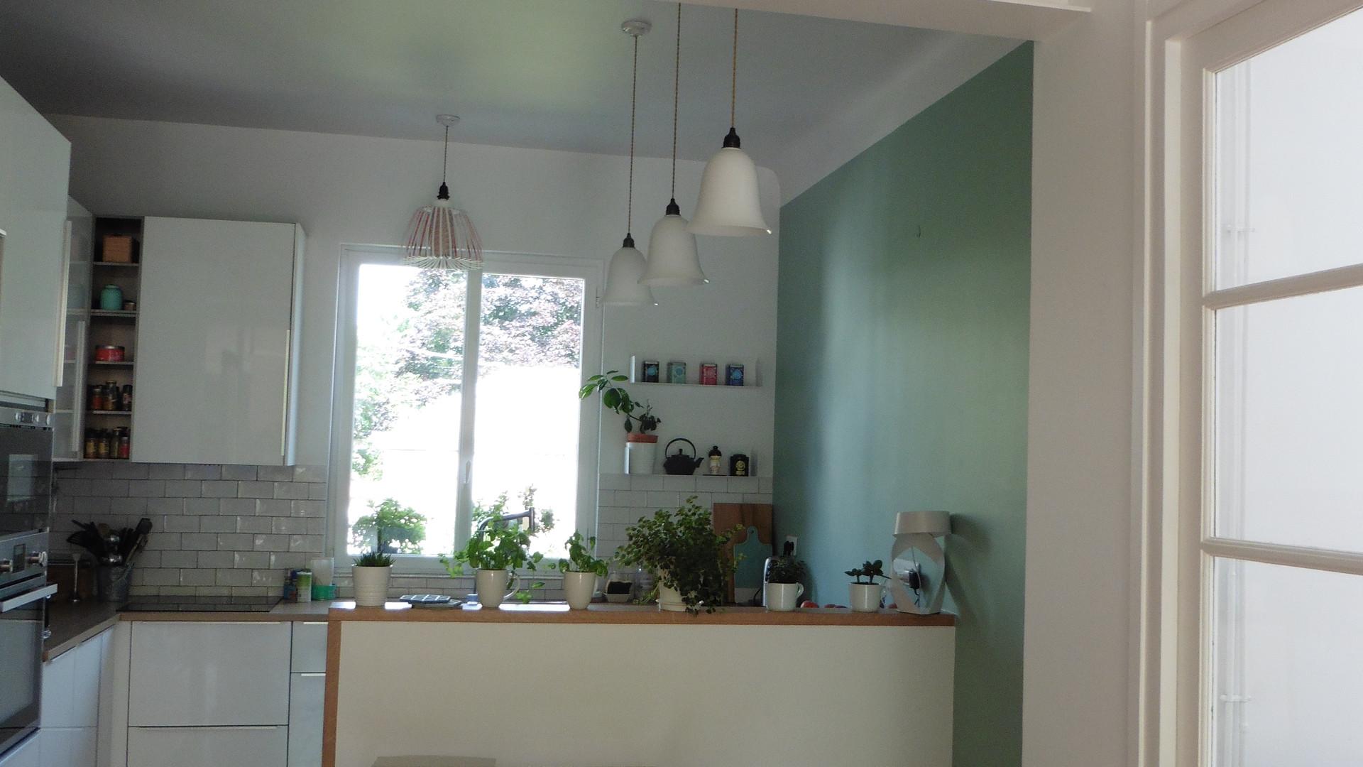 La nouvelle cuisine grâce à l'ouverture du porteur.