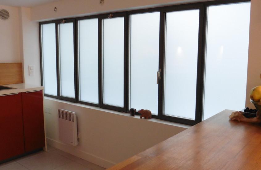 Nouvelles fenêtres dans la cuisine