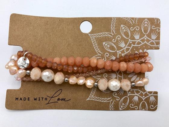 Armband-Set mit Perlen
