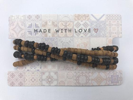 Holz Armband-Set