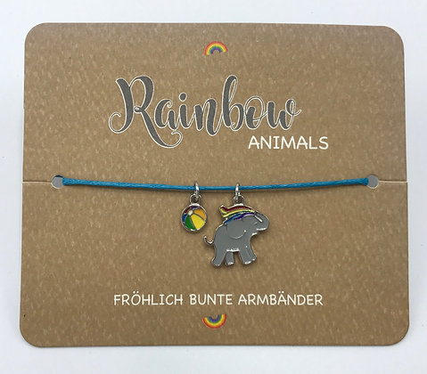 Kinder-Armband Rainbow Animals