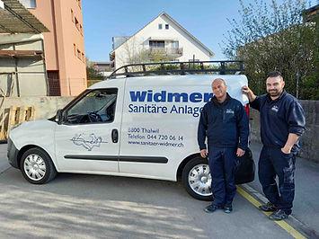 René Widmer und Dario Varone