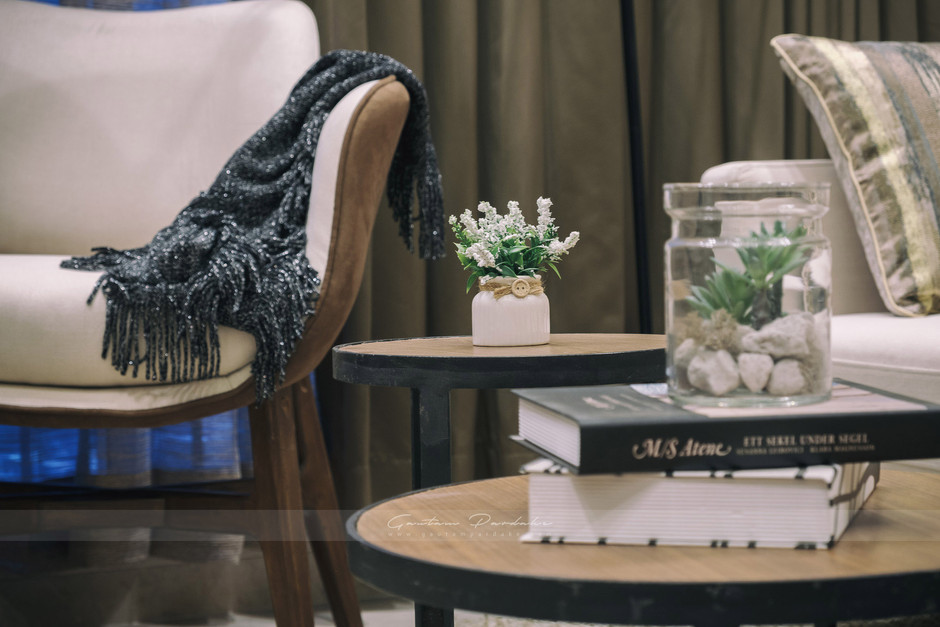 Living room interior photo from Mumbai