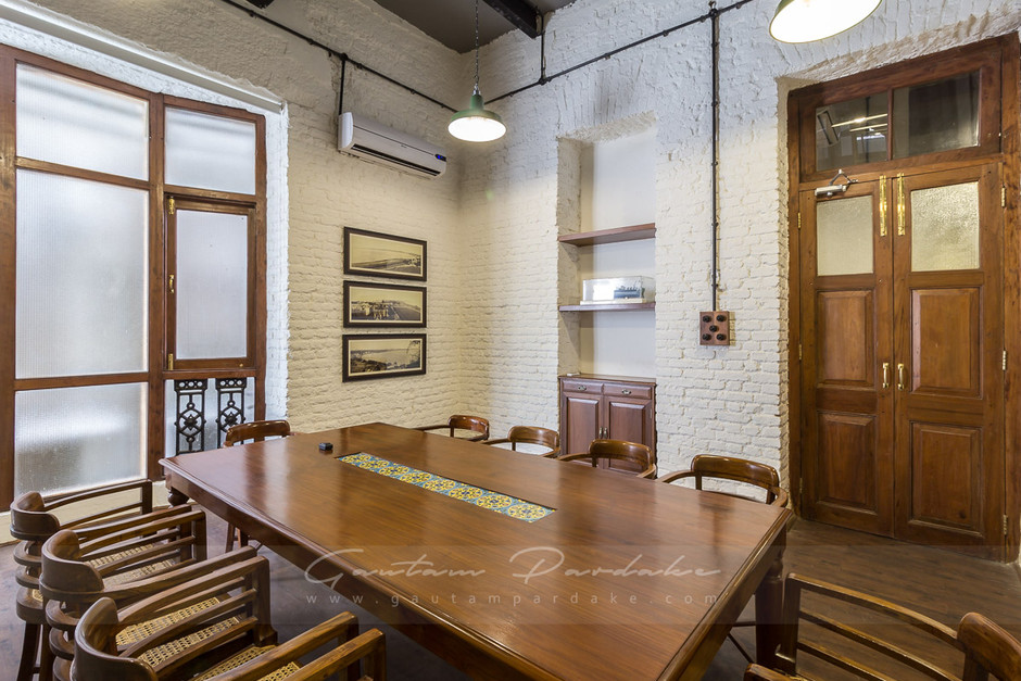Interior photo of a Meeting Room in an office in Powai